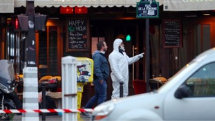 police and forensic activity
