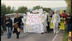 Nuclear power protesters