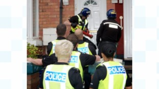 A firearms warrant was executed at an address in Tividale last night