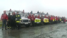 Six landrovers have been donated to the Dartmoor and Exmoor rescue groups