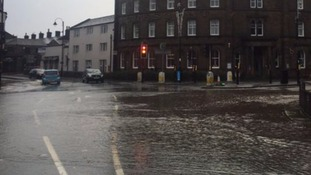 Flooding causes disruption across parts of Yorkshire
