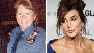 Women of the Year award recipients: Moira Smith (left) and Caitlyn Jenner