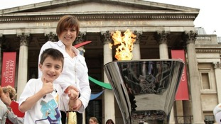 The Paralympic flame continues its journey through Yorkshire