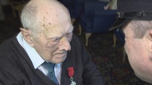 Ron Oxley receives the Legion D'Honneur