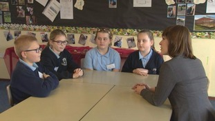 Some of the team talked to our Education Reporter, Megan Boot