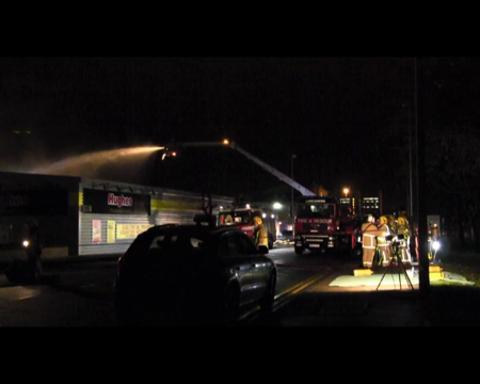 Commercial Premises Fire - Preston-HD