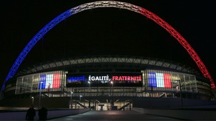 England v France: Wembley to pay silent tribute to Paris attacks victims amid tight security