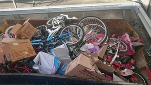 Tesco store caught out scrapping £4,000 of unsold bikes