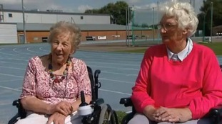 Margaret Maughan (left) and Sally Haynes