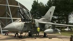 Fighter jets from the East have been involved in fresh strikes against Islamic State militants.