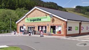 The Co-Op at Pontycymer.