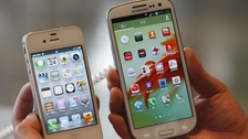 The patent case focused on on how similar Samsung's phones are to the iPhone
