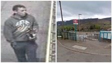 British Transport Police want to speak to a man in connection with an incident at Merthyr Vale station.