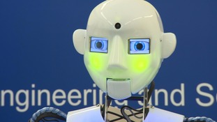 """Human"" robot being used to teach the engineers of the future"