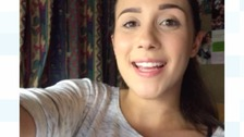 Laima Canns has been sharing her thoughts at university through a video diary