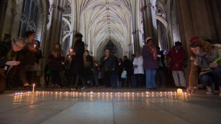 Bristol Vigil: People of all faiths gather together to remember those injured or killed in Paris