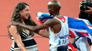 Double Gold and now Double Girls for Mo Farah