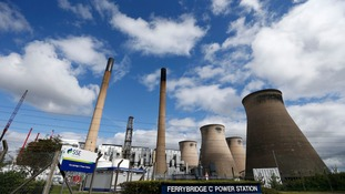 Ferrybridge power station will close in 2016.