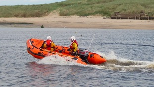 RNLI 'very relieved' following the rescue of two fishermen whose boat sank