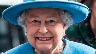 The Queen at an event earlier this month.