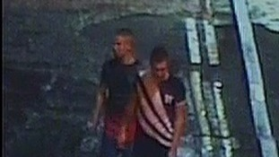 Police would like to speak to these men about an assault in Barnsley