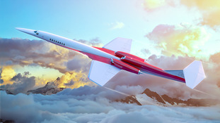 Artist's impression of new aircraft