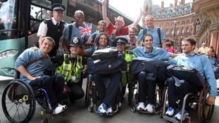 French Paralympic team in London