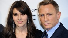 Too close for comfort? Monica Bellucci and Daniel Craig at a Spectre premiere