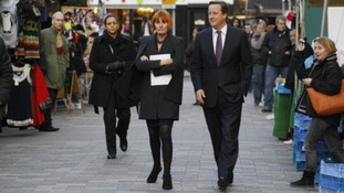 Mary Portas has the backing of prime minister David Cameron