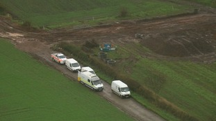 Teams are also working at farmland near the village of Belton, approximately seven miles away from Ibstock.