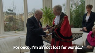 Bristol's hero: Lord Mayor's Medal for the last surviving Dambuster