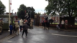 Preston welcomes Paralympic Torch Relay with flypast
