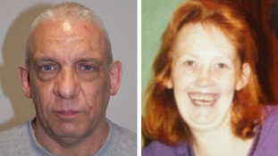 Christopher May (left) murdered Tracey Woodford