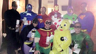 Police praise band of crime-stopping 'superheroes'