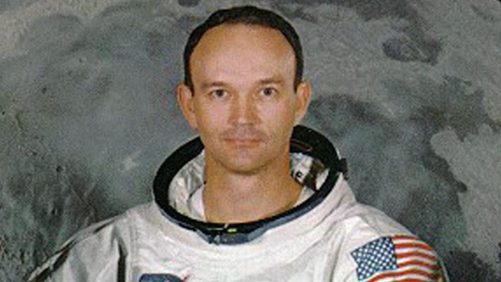 michael collins astronaut death -#main
