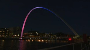 Gateshead Millennium Bridge celebrates 15 years on the Tyne