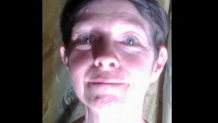Still of Judith Tebbutt while she was in captivity in Somalia