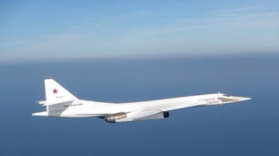 A Russian Blackjack bomber which approached UK airspace last month