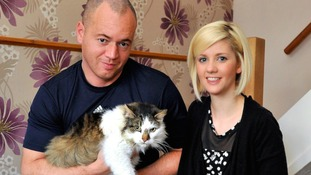 Cat missing for six years turns up half-a-mile away