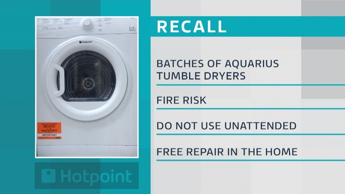 HOTPOINT AND INDESIT ABOUT TO RECALL SOME TUMBLE DRIERS ...