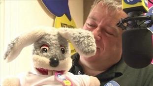 TV puppet Gus Honeybun