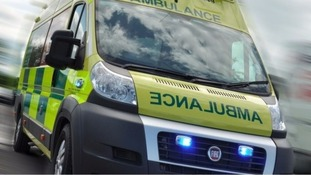 General picture of a West Midlands Ambulance.