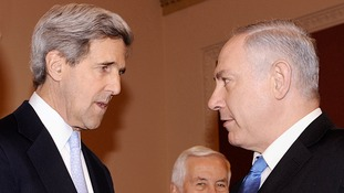 John Kerry to travel to Tel Aviv, Jerusalem and Ramallah.