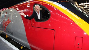 Sir Richard Branson Virgin trains