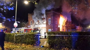 Tottenham church badly damaged by huge fire