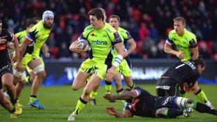 European Challenge Cup review: Sale earn first win as London Irish are defeated despite fight back