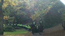 Five police officers injured at Devon derby