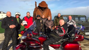 Local biking volunteers make an 82-year-old Grandad's dream come true...