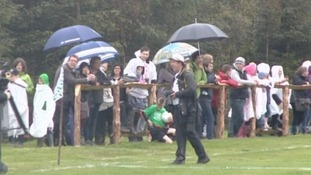 Spectators at Forest Pitch