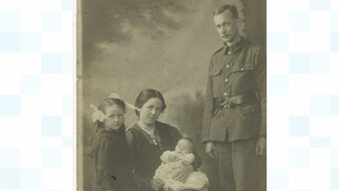 Herbert Moore and his family